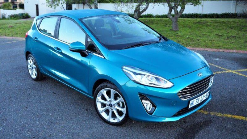 All-new Ford Fiesta EcoBoost 1.0 Titanium Auto