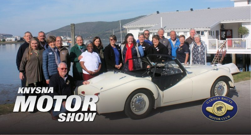 Knysna motor show does it again for the Knysna and Plettenberg Bay charities!