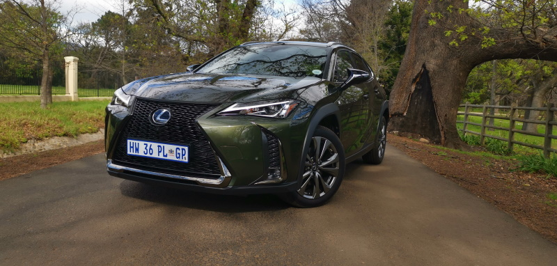 Lexus UX eintlik 'n stadsjapie